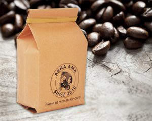 Coffee Quad Seal Packaging