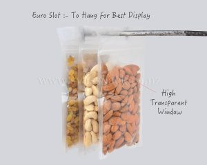 Ultra Clear Three Side Seal Pouch