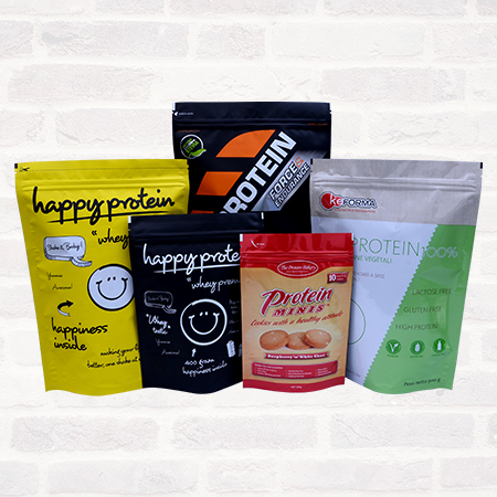 Protein/Supplement Packaging