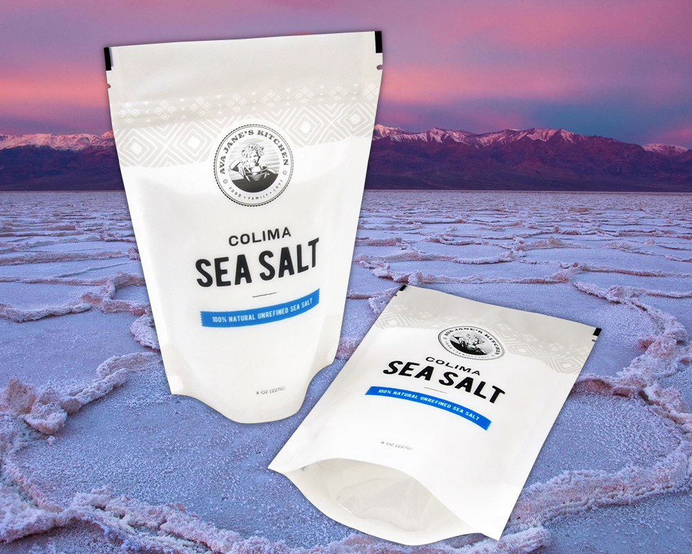 Salt Spouted Bags Salt Packaging Sea Salt Packaging