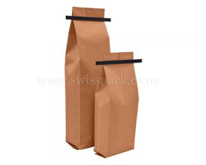 Brown Paper With Tin-Tie