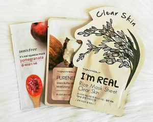 Cosmetic Sheet Mask Packaging