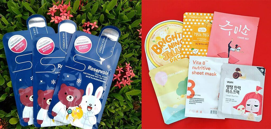 Cosmetic Sheet Mask Packaging 1