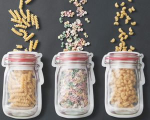 Jar Shaped Pouches