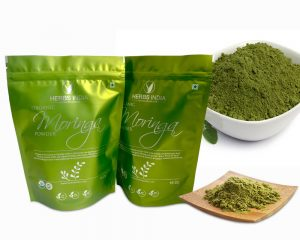 Organic Moringa Powder Packaging