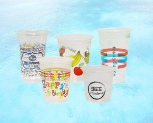 Printed Plastic Cups Glasses