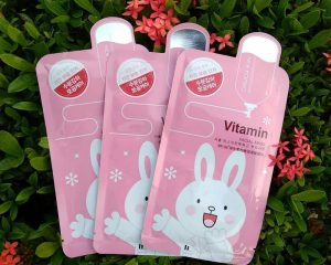 Vitamin Cosmetic Sheet Mask Packaging