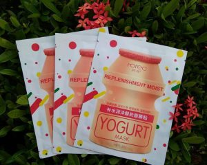 Yogurt Cosmetic Sheet Mask Packaging